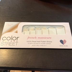 Color Street City of Love French Manicure